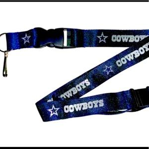 Dallas Cowboys Officially NFL Licensed Lanyard